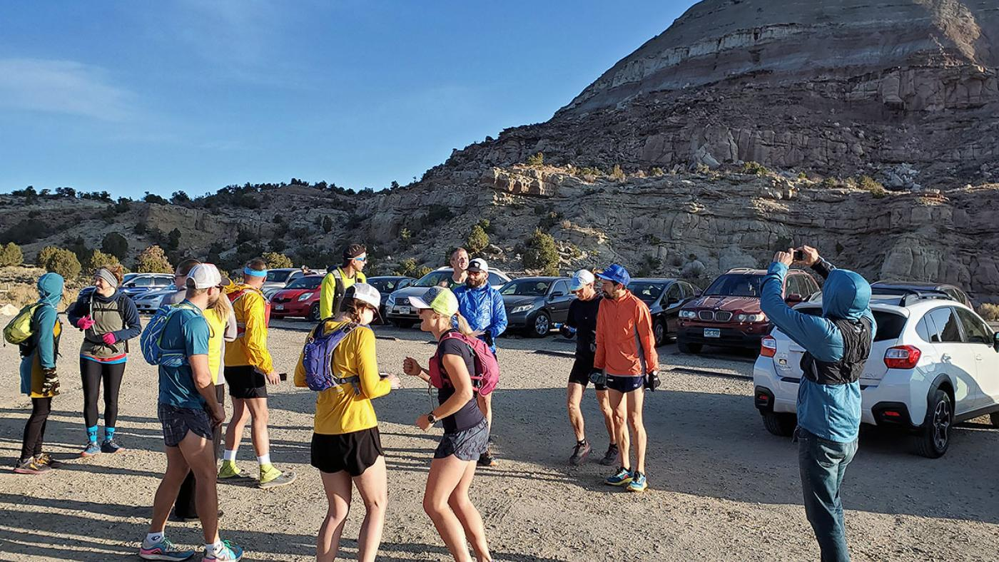 Mesa Monument Striders Run from Grand Junction, Colorado, to Whitewater, Colorado, October 2019
