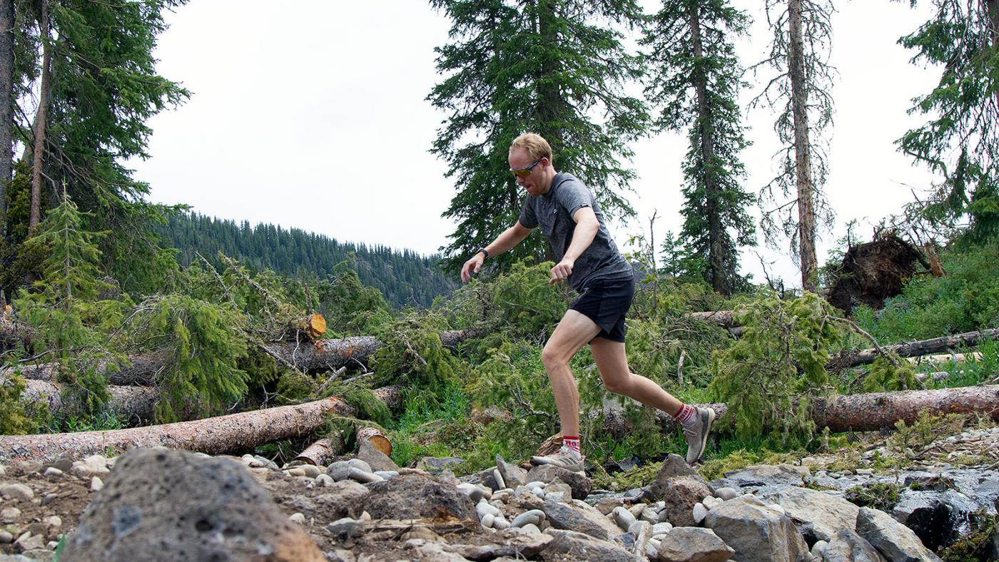 Eivind Roed, Crag Crest 2020 Trail Race